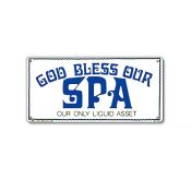 41343   12'' x 6'' God Bless Our Spa