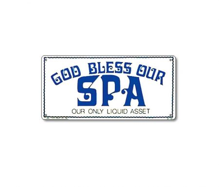41343 | 12'' x 6'' God Bless Our Spa
