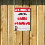 Warning - Urine Detector
