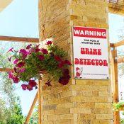 Warning - Urine Detector