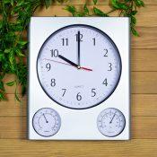 Clock, Thermometer & Hygrometer