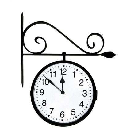 52608 | Dual-Sided Hanging Clock