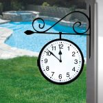 52608 | Dual-Sided Hanging Clock - Lifestyle 2