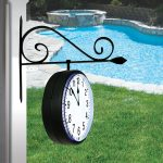 52608 | Dual-Sided Hanging Clock - Lifestyle 1