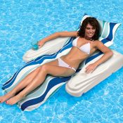 70745 | Rio Sun Adjustable Floating Chaise Lounge - Lifestyle