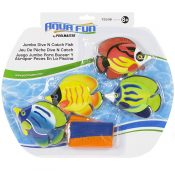 72536 | Jumbo Dive 'N' Catch Fish Game - Package