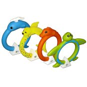 72712   Soft Animal Rings - Collection