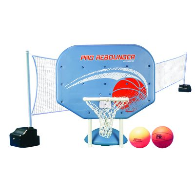 Pro Rebounder Poolside Basketball/Volleyball Game Combo