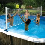 72777   Above Ground Volleyball Game - Lifestyle