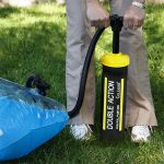 87480 | Heavy-Duty Double-Action Hand Pump - Lifestyle