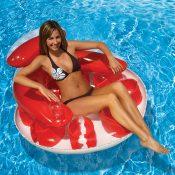 85648 | Water Pop Circular Lounge - Red LS