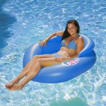 85658 | Water Pop Mesh Lounge - Lifestyle Blue
