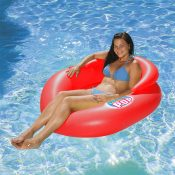 85658 | Water Pop Mesh Lounge - Lifestyle Red