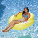 85658 | Water Pop Mesh Lounge - Lifestyle Yellow