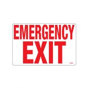 40358   Emergency Exit Sign