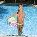 81126   24'' Polka Dot Play Ball - Lifestyle 2