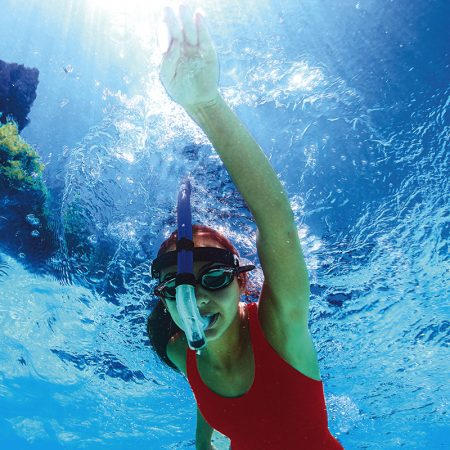 92201 | Head-Mount Training Snorkel - Junior - Lifestyle 1