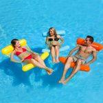 70767   Vinyl Water Hammock - Lifestyle