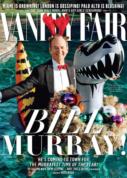 Bill Murray featured in Vanity Fair w/ the T-Rex Rider #81735