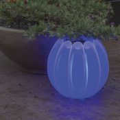 54501 | Solar Lantern - Blue Lifestyle 2