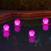 54502 | Solar Lantern - Pink Lifestyle 6