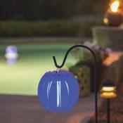 54501 | Solar Lantern - Blue Lifestyle 4