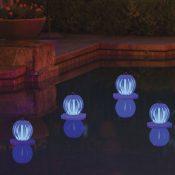 54501 | Solar Lantern - Blue Lifestyle 5