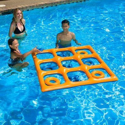 Inflatable Tic Tac Toe Game For Pool and Land | Stay At Home Mum