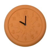52550 | 12'' Terra Cotta Clock - Product 1