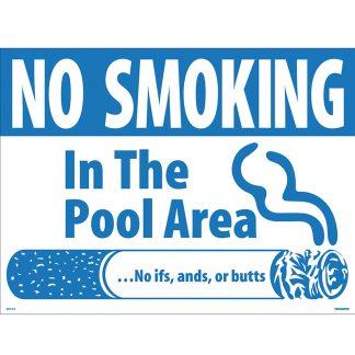 40314 | No Smoking Pool Sign