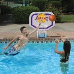 NBA Los Angeles Lakers Pro Rebounder Style Basketball Game
