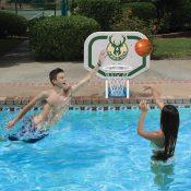 NBA Milwaukee Bucks Pro Rebounder Style Basketball Game