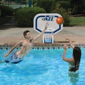 NBA Utah Jazz Pro Rebounder Style Basketball Game