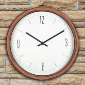 52542 | 16'' Bronze Contemporary Clock - Lifestyle 1
