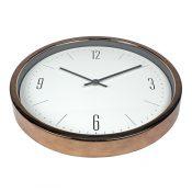 52542 | 16'' Bronze Contemporary Clock