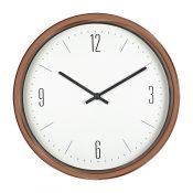 16'' Bronze Contemporary Clock