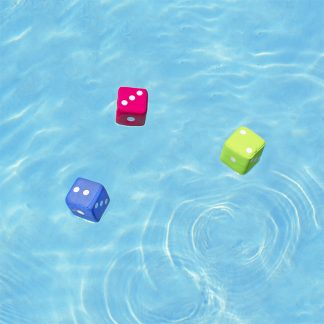 72766 | Neoprene Water Dice - LS 1
