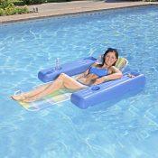 70733 | Caribbean Plaid Lounge - Lifestyle 1