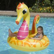 87157 | 48'' Yellow Seahorse Tube - Lifestyle 4