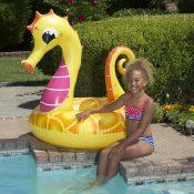 87157 | 48'' Yellow Seahorse Tube - Lifestyle 1