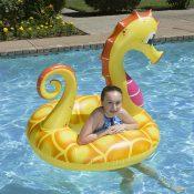 87157 | 48'' Yellow Seahorse Tube - Lifestyle 3