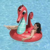 87158 | 48'' Coral Seahorse Tube - Lifestyle 1
