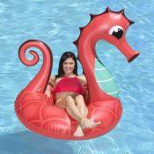 87158 | 48'' Coral Seahorse Tube - Lifestyle 2