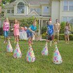 Party Hats Ring Toss Game