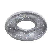 "36"" Silver Glitter Tube"