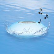 Floating Wireless Speaker with Multi-Light Display