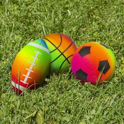 3Pk Rainbow Game Balls