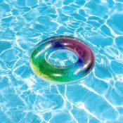 """31"""" Rainbow Glitter Tube"""