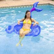 Mermaid Tail Sling Chair