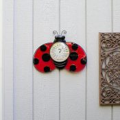 Ladybug Thermometer Wall Décor